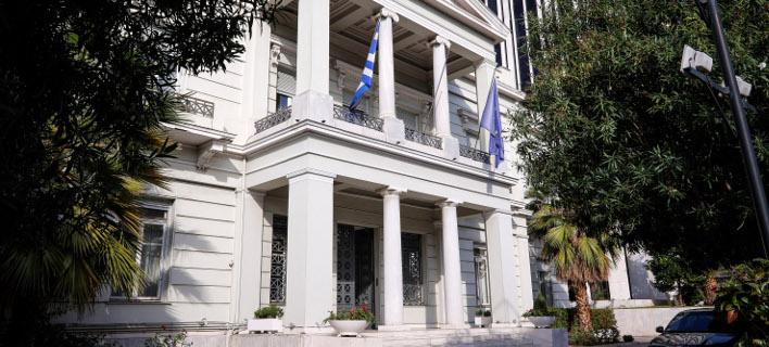 Υπουργείο Εξωτερικών (Φωτογραφία: EUROKINISSI/ΓΙΩΡΓΟΣ ΚΟΝΤΑΡΙΝΗΣ)