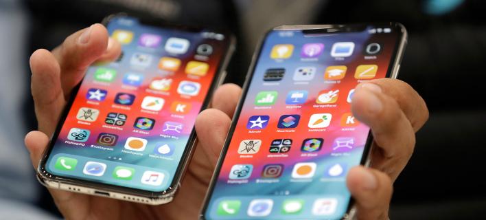 Το τελευταίο μοντέλο του iPhone. Φωτογραφία: AP