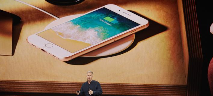 Φωτογραφία από την παρουσίαση των νέων iPhone/ ΑP