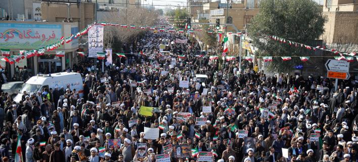 Συνεχίζονται οι διαμαρτυρίες στο Ιράν, Φωτογραφία: AP