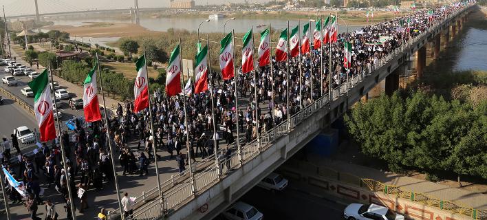 Νέες φιλοκυβερνητικές διαδηλώσεις πραγματοποιήθηκαν σήμερα στο Ιράν