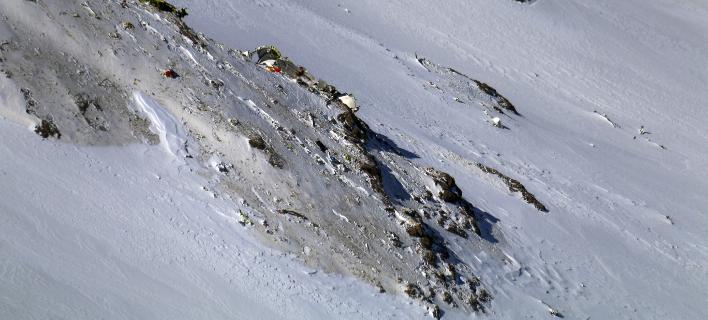Βρέθηκαν τα συντρίμμια του μοιραίου αεροσκάφους (Φωτογραφία: AP/ Mohammad Khademosheikh)