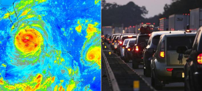 Πανικός στη Φλόριντα από το επικείμενο χτύπημα του τυφώνα Ιρμα (Φωτογραφία Twitter/ AP, John Bazemore)