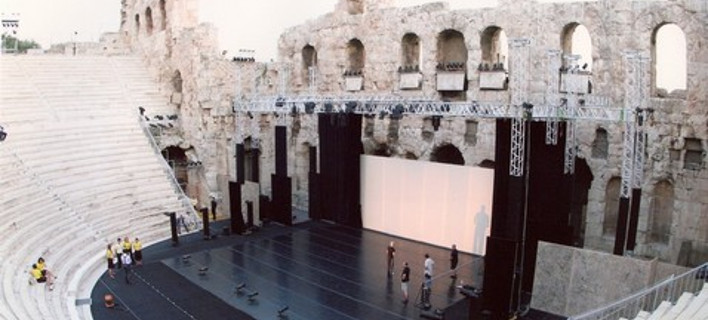 «Χιλιάδες βήματα προς τα αρχαία και σύγχρονα θέατρα» φωτογραφία: greekfestival.gr