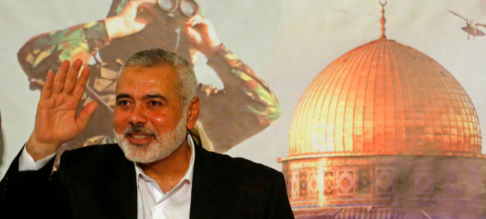 O ηγέτης της Χαμάς, Ισμαήλ Χανίγια (Φωτογραφία: ΑΡ)