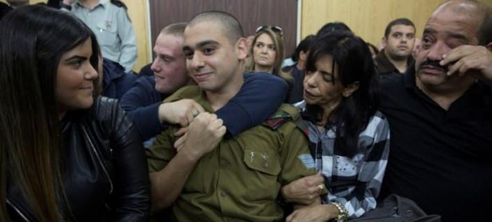 Ενοχος για ανθρωποκτονία Ισραηλινός στρατιώτης που αποτέλειωσε τραυματισμένο Παλαιστίνιο [βίντεο]