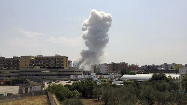 Φονική έκρηξη σε εργοστάσιο πυροτεχνημάτων στο Μπάρι – Επτά νεκροί[Photos]