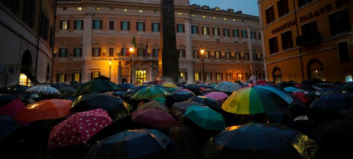 Ξεσηκωμός υπέρ των προσφύγων στην Ιταλία -Συγκεντρώσεις σε 300 πόλεις