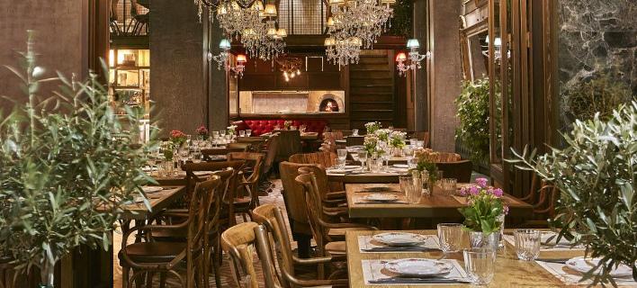 To εστιατόριο «Italida» μοιάζει με παλιό αρχοντικό/ Φωτογραφία: Italida