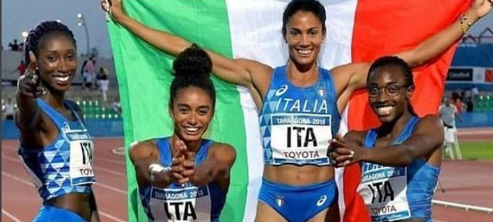 Αποτέλεσμα εικόνας για Ιταλία: η φωτογραφία 4 αθλητριών