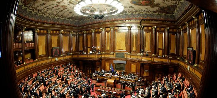 Το ιταλικό κοινοβούλιο-Φωτογραφία: AP/Andrew Medichini