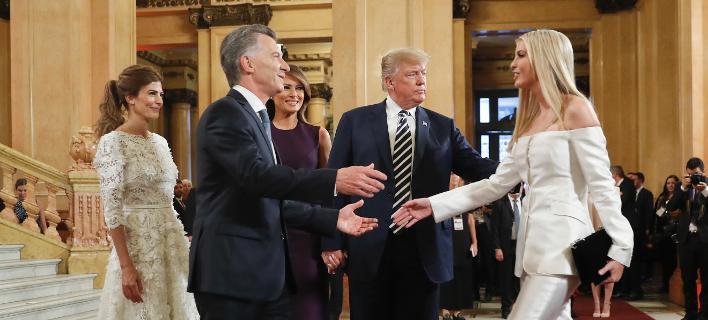 Ιβάνκα-Μελάνια Τραμπ/ Φωτογραφία: AP