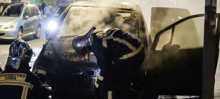 Ενας απανθρακωμένος άνδρας βρέθηκε σε ΙΧ στη Λάρισα (Φωτογραφία αρχείου: EUROKINISSI/ΤΑΤΙΑΝΑ ΜΠΟΛΑΡΗ)
