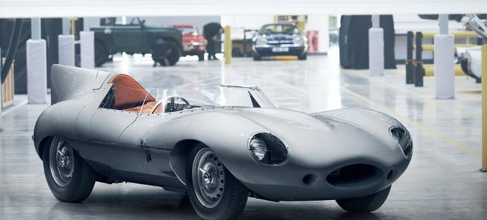 Μετά από 62 χρόνια η αγωνιστική Jaguar D-Type ξαναγεννιέται [εικόνες]
