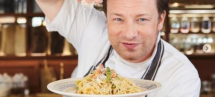 Ο διάσημος σεφ, Τζέιμι Όλιβερ. Φωτογραφία: Instagram