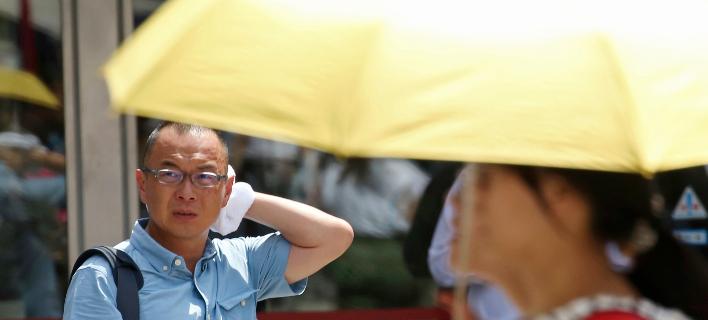 καύσωνας στην Ιαπωνία/Φωτογραφία: AP