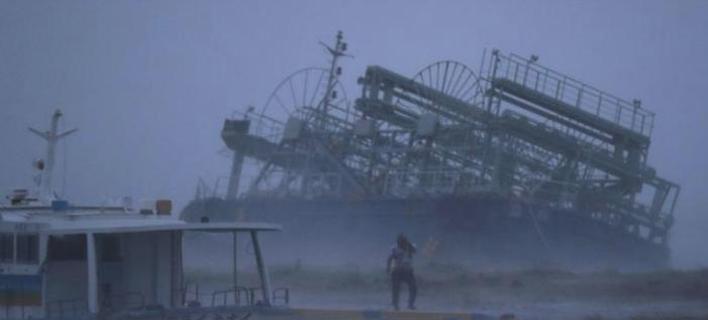 τυφώνας στην Ιαπωνία/Φωτογραφία: Twitter