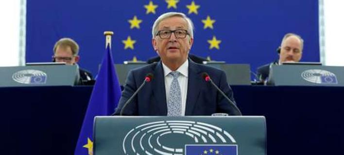 Ο Γιούνκερ «πάγωσε» το όραμα Μακρόν για την Ευρώπη -Πρότεινε ευρωπαϊκό ΔΝΤ και υπουργό Οικονομίας της Ευρώπης