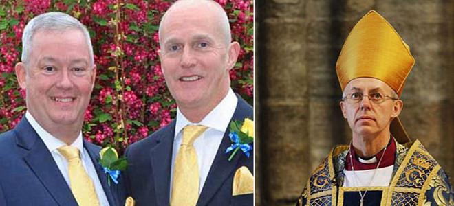 Αποτέλεσμα εικόνας για γαμοι αγγλικανων ομοφυλοφιλων