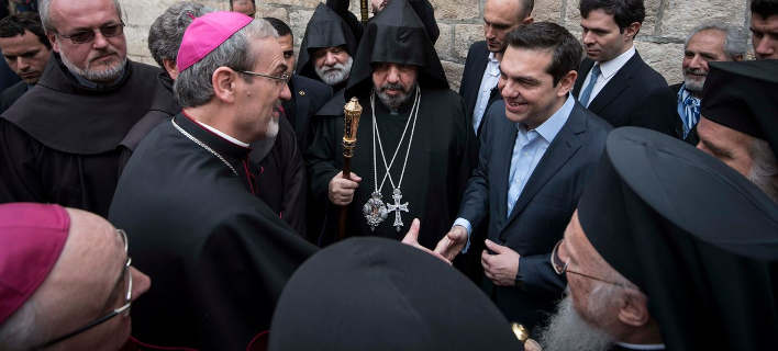 Τσίπρας: Κορυφαίο μήνυμα συνύπαρξης στους Αγίους Τόπους η αποκατάσταση του Παναγίου Τάφου