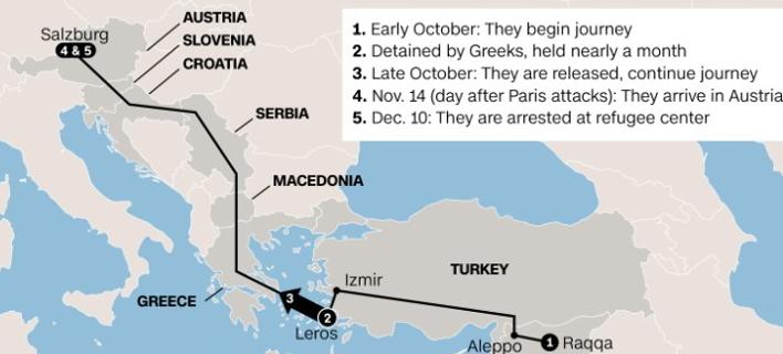 Νέες αποκαλύψεις: Πώς πέρασαν από την Ελλάδα τζιχαντιστές της ομάδας που αιματοκύλισε το Παρίσι