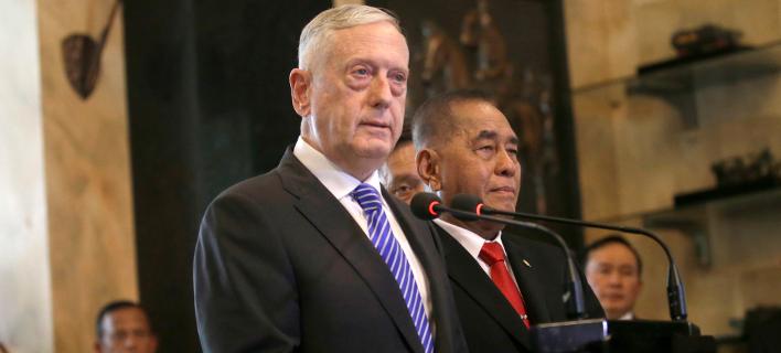 Αμερικανός Υπουργός Άμυνας, Τζιμ Μάτις/Φωτογραφία: AP