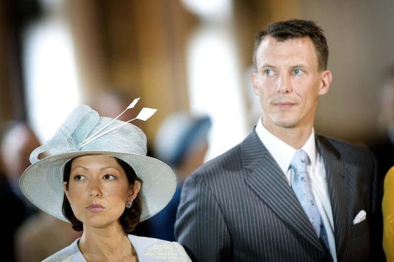 Ο πρίγκιπας Γιοακίμ με την πρώτη του σύζυγο, Αλεξάνδρα. Φωτογραφία: AP