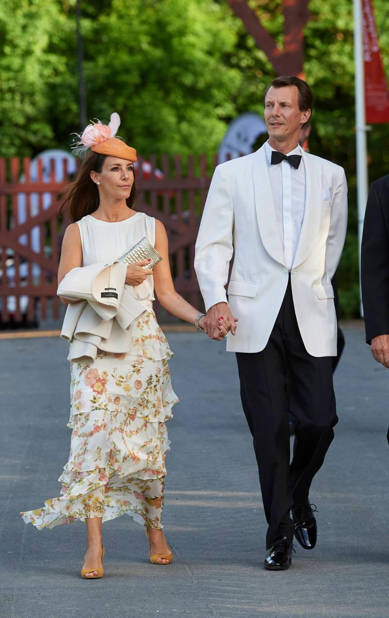 Ο πρίγκιπας Γιοακίμ με την σύζυγό του Μαρί. Φωτογραφία: Splash News