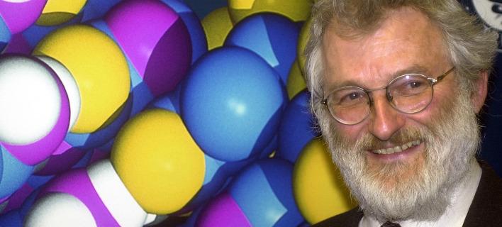 Ο νομπελίστας Ιατρικής Τζον Σάλστον. Φωτογραφία: AP
