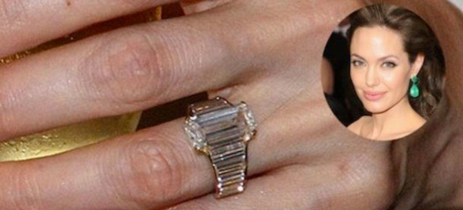 Αντζελίνα Τζολί, Μπράντ Πιτ, Ρόμπερτ Προκόπ, δαχτυλίδια, διαμάντια, Σοφιά Λόρεν,