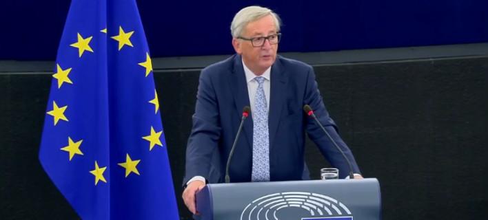 O Ζαν Κλοντ Γιούνκερ παρουσιάζει το όραμά του για την Ε.Ε.