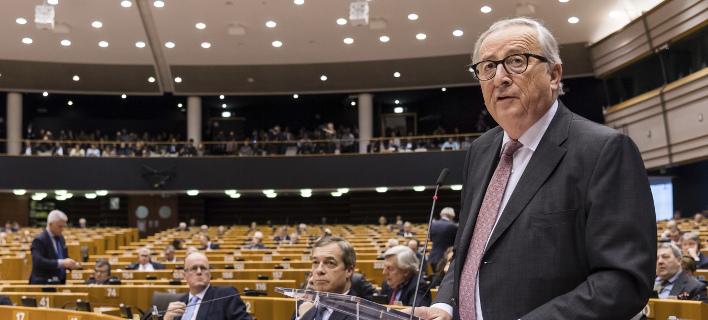 Ο Ζαν Κλοντ Γιούνκερ/ Φωτογραφία: AP- Geert Vanden Wijngaert