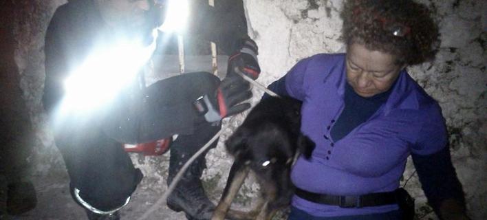 Σοκ στην Κεφαλλονιά: Πέταξε σκυλιά σε στέρνα 12 μέτρων -Συγκλονιστικές εικόνες από τη διάσωση