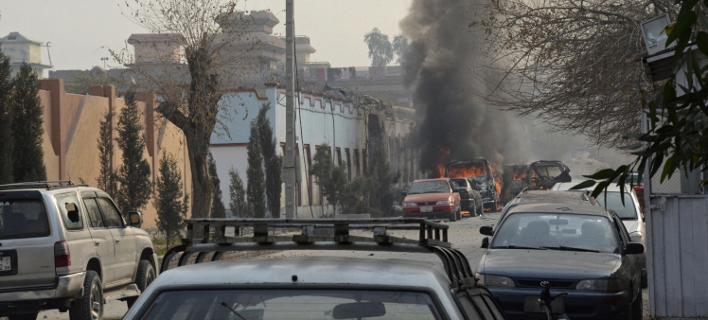 Ισχυρή έκρηξη στην Καμπούλ (Φωτογραφία αρχείου: AP)