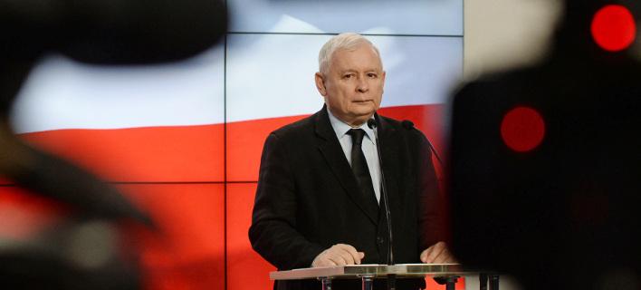 O Γιάροσλαβ Κατζίνσκι, επικεφαλής του κυβερνώντος κόμματος PiS της Πολωνίας (Φωτογραφία: ΑΡ)
