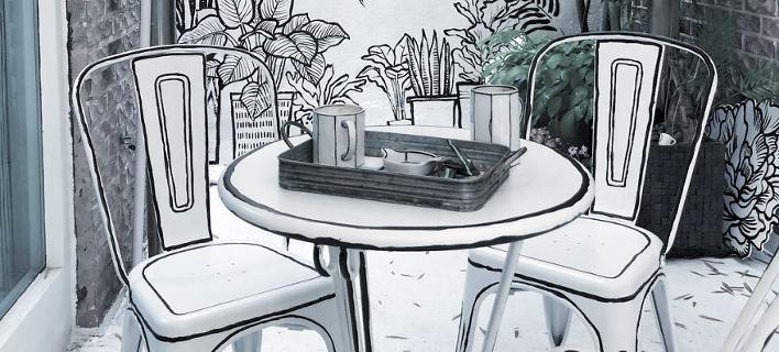 Το καφέ στη Σεούλ που θυμίζει κόμικ (Φωτογραφία: Instagram)