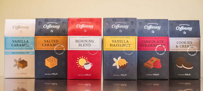 «Coffeeway Filter Coffee Collection»: Βραβείο Ανώτερης Γεύσης (Superior Taste Award) για τα «Vanilla Hazelnut» & «Morning Blend»