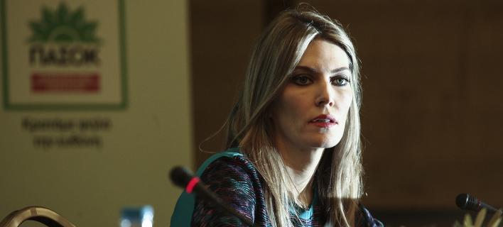 Η ευρωβουλευτής του ΠΑΣΟΚ Εύα Καϊλή -Φωτογραφία: Menelaos Myrillas / SOOC