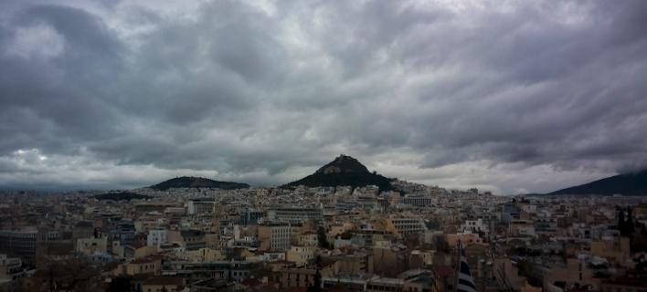 Σύννεφα/ Φωτογραφια: Eurokinissi