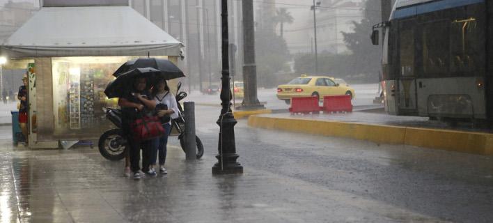 Βροχές και καταιγίδες προβλέπει για σήμερα η ΕΜΥ / Φωτογραφία: INTIMENEWS/ΚΑΠΑΝΤΑΗΣ ΔΗΜΗΤΡΗΣ