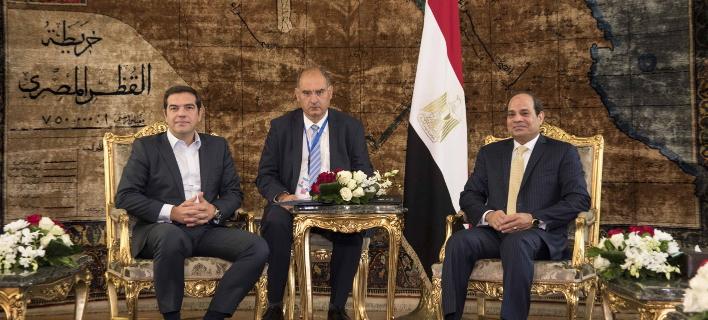 Τσίπρας από Κάιρο: Πρέπει να συνεργαστούμε για τη σταθερότητα της περιοχής και την ευημερία των λαών μας