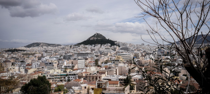 Χειμωνιάτικη Αθήνα (Φωτογραφία: ΑΝΤΩΝΗΣ ΝΙΚΟΛΟΠΟΥΛΟΣ/EUROKINISSI)
