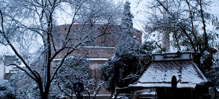 Τσουχτερό κρύο και χιόνια το Σάββατο(Φωτογραφία: IntimeNews/ΚΩΝΣΤΑΝΤΙΝΟΣ ΚΟΥΤΣΟΝΙΚΟΛΑΣ)