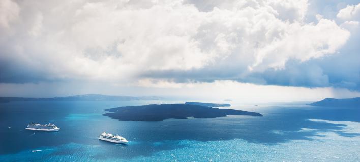 Συννεφιά στο Αιγαίο /Φωτογραφία: Shutterstock