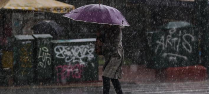 Καταιγίδες αναμένονται σήμερα / Φωτογραφία: Eurokinissi