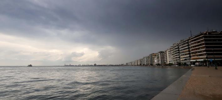 Βροχή στη Θεσσαλονίκη (Φωτογραφία: MotionTeam/ΤΡΥΨΑΝΗ ΦΑΝΗ)