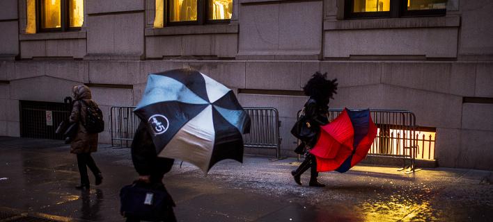 Εντονα καιρικά φαινόμενα αναμένονται στη Βρετανία / Φωτογραφία: (AP Photo/Andres Kudacki)