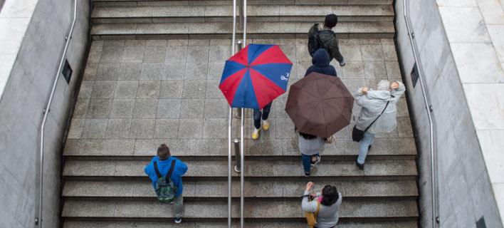 Μην ξεχάσετε την ομπρέλα την Πέμπτη, μπορεί να τη χρειαστείτε/ Φωτογραφία: EUROKINISSI- ΛΥΔΙΑ ΣΙΩΡΗ