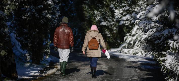 Κακοκαιρία και την Πέμπτη/ Φωτογραφία: EUROKINISSI- ΣΤΕΛΙΟΣ ΜΙΣΙΝΑΣ
