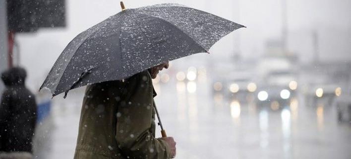 Εκτακτο δελτίο επιδείνωσης του καιρού: Ερχονται καταιγίδες και χαλάζι